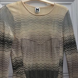Missoni classic material dress